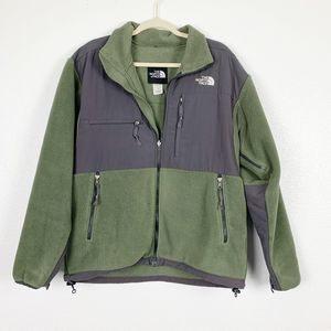 The North Face Green Denali 2 Full Zip Mens Jacket
